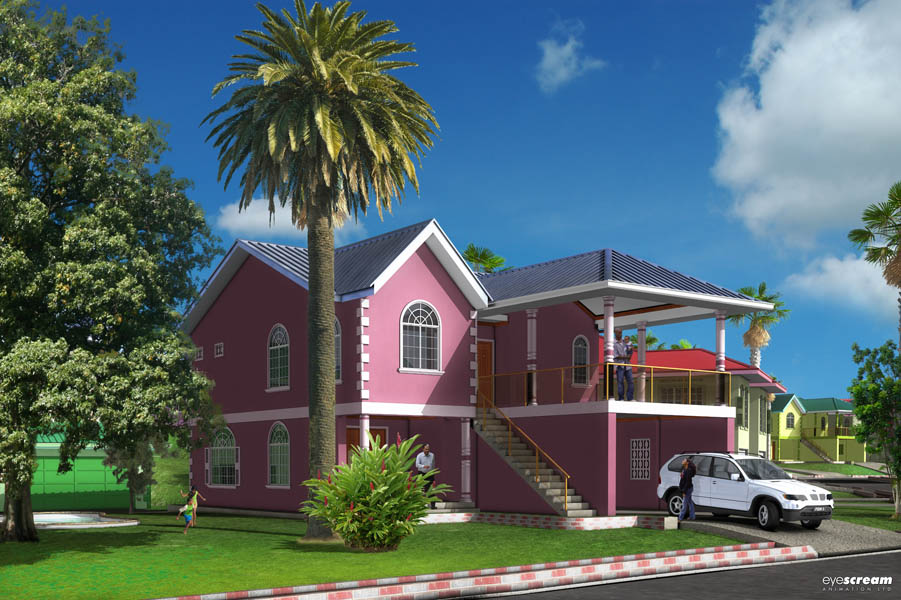 Houses in trinidad and tobago for sale trinidad and tobago for Trini homes